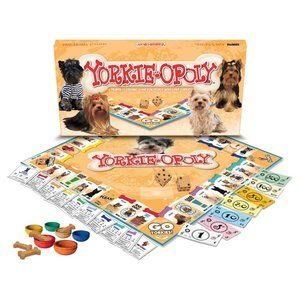 Late For The Sky Yorkie-opoly Yorkie Monopoly NEW